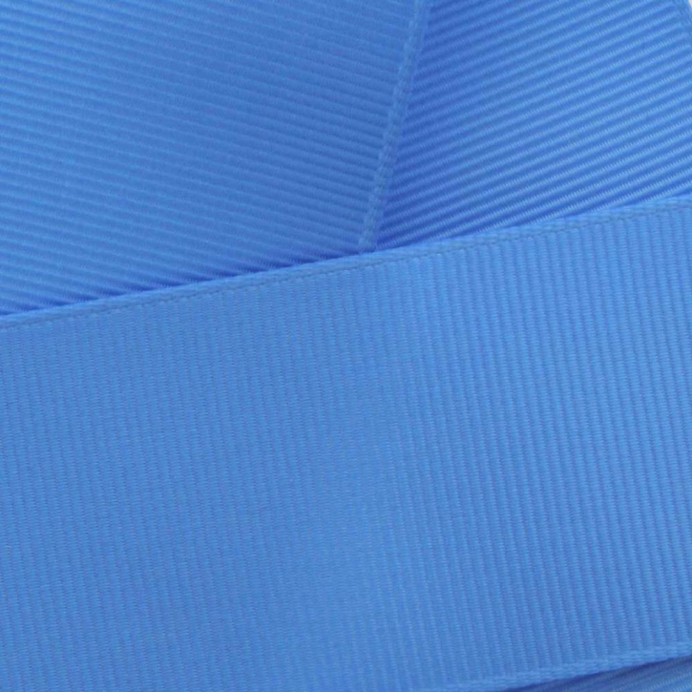 Capri Blue Grosgrain Ribbon HBC 337