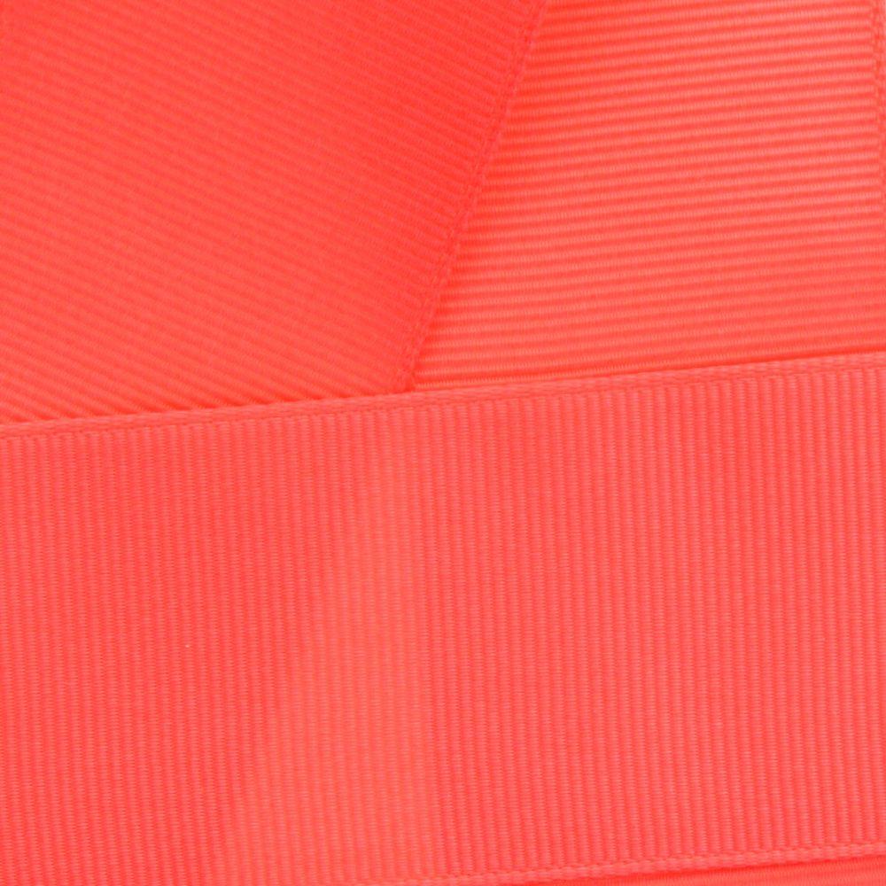 Coral Grosgrain Ribbon HBC 245