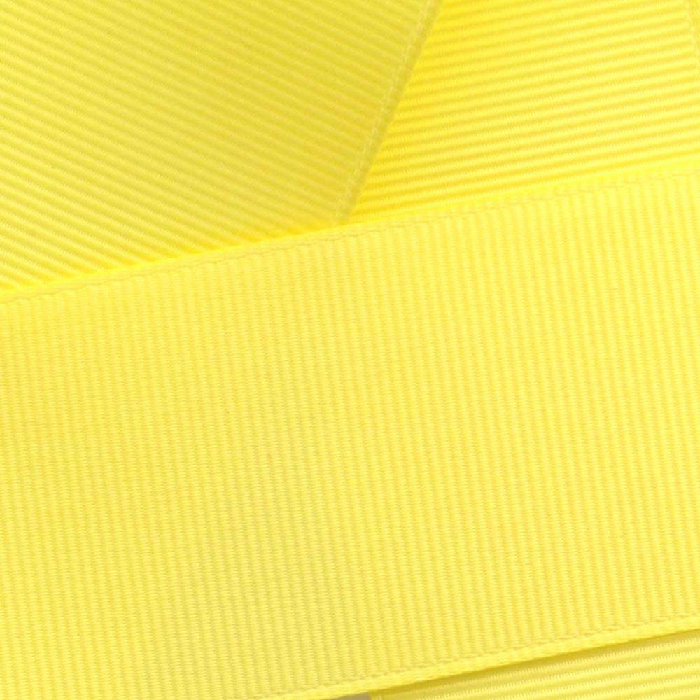 Lemon Grosgrain Ribbon HBC 640