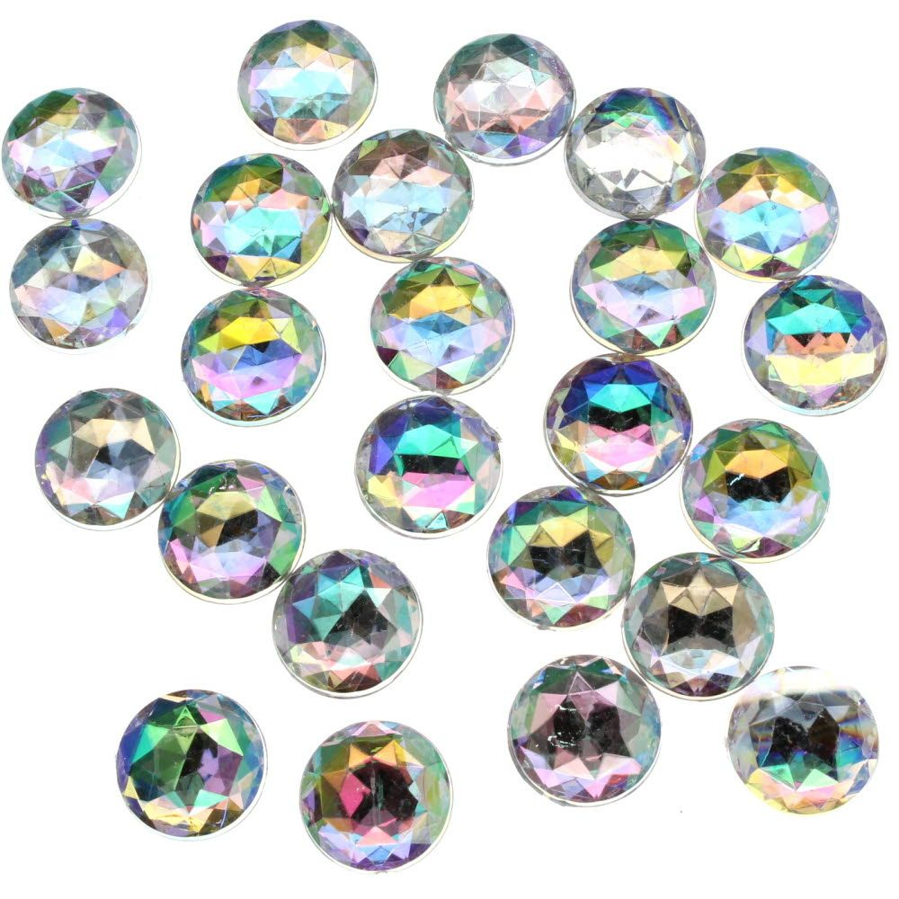 Loose Acrylic Rhinestones – 15mm (24 pcs)