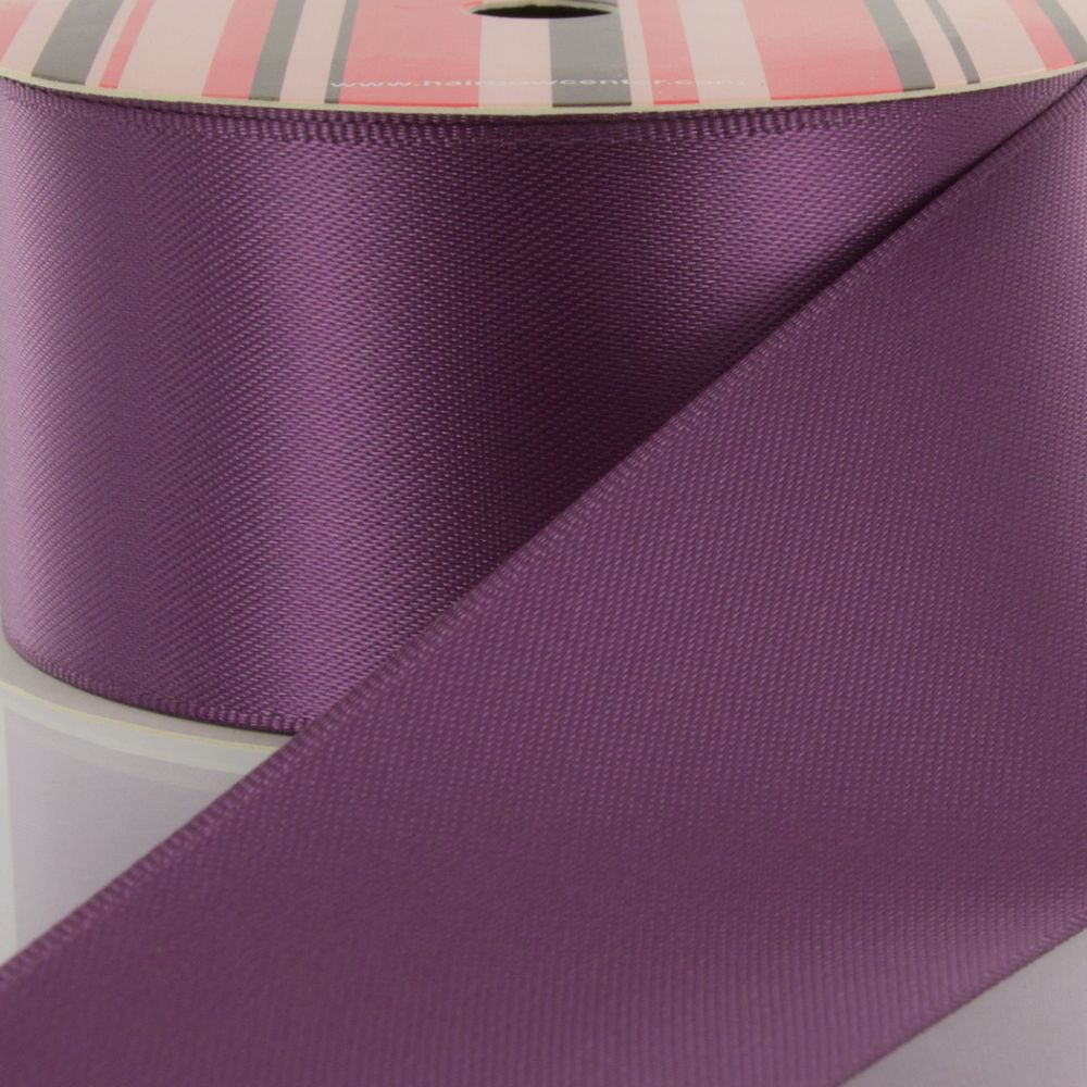 Amethyst Double Faced Satin Ribbon 473
