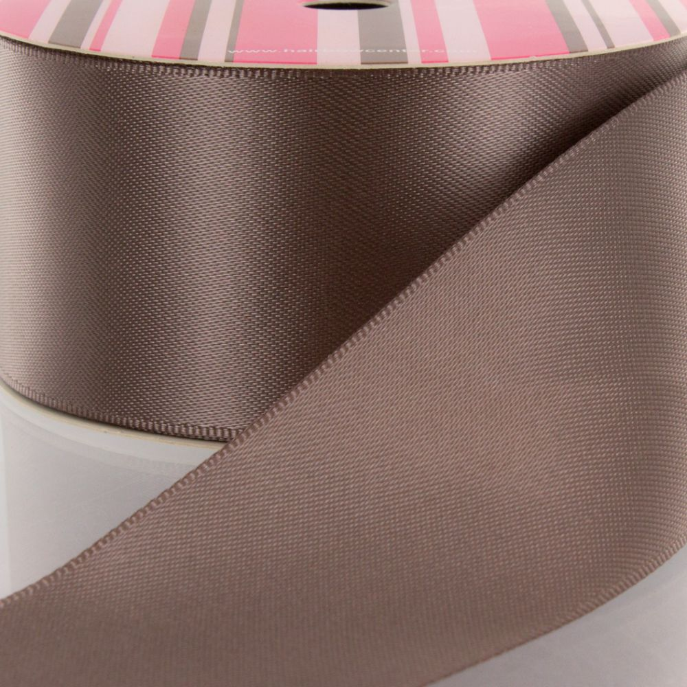 Chocolate Chip Double Faced Satin Ribbon 839