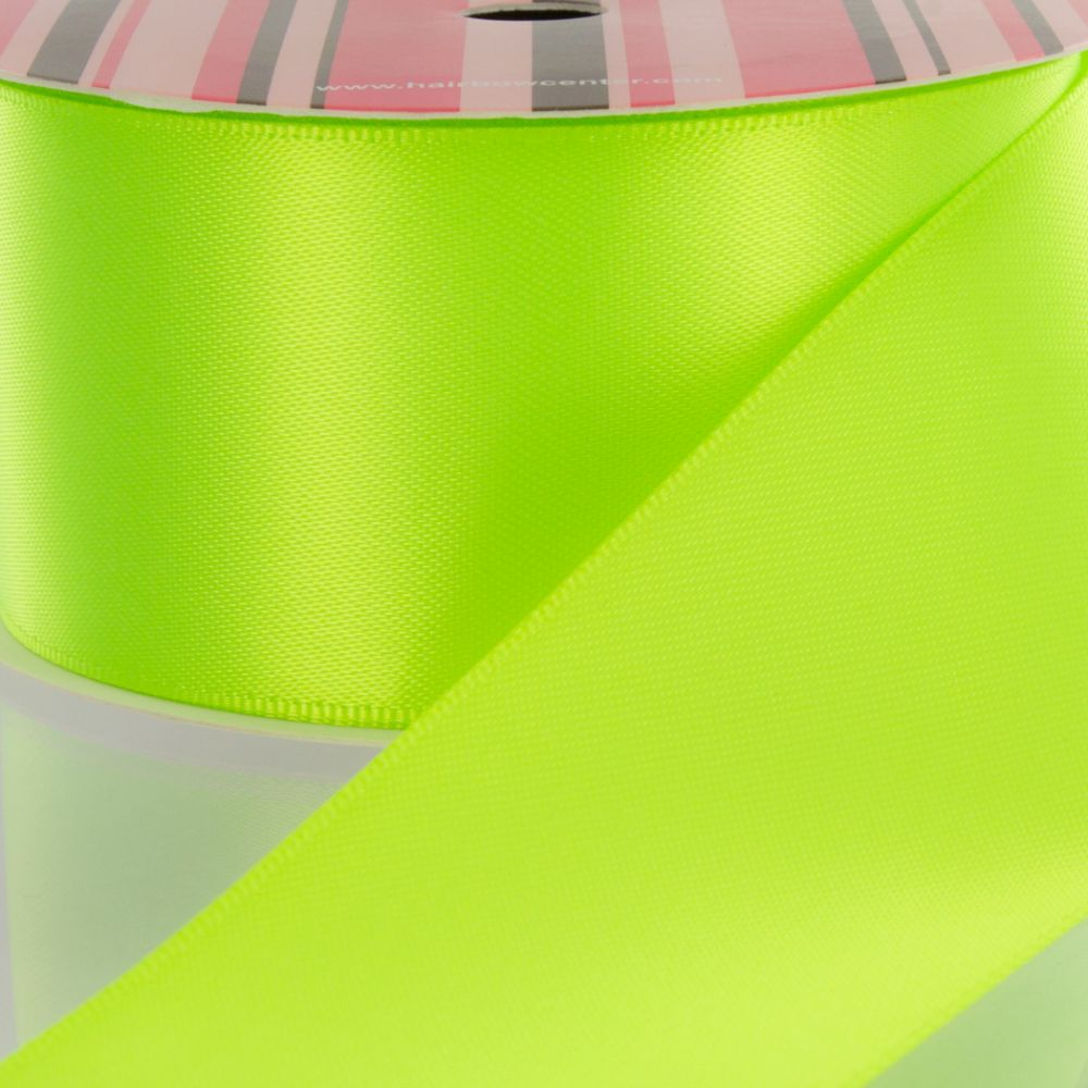 Key Lime Double Faced Satin Ribbon 544