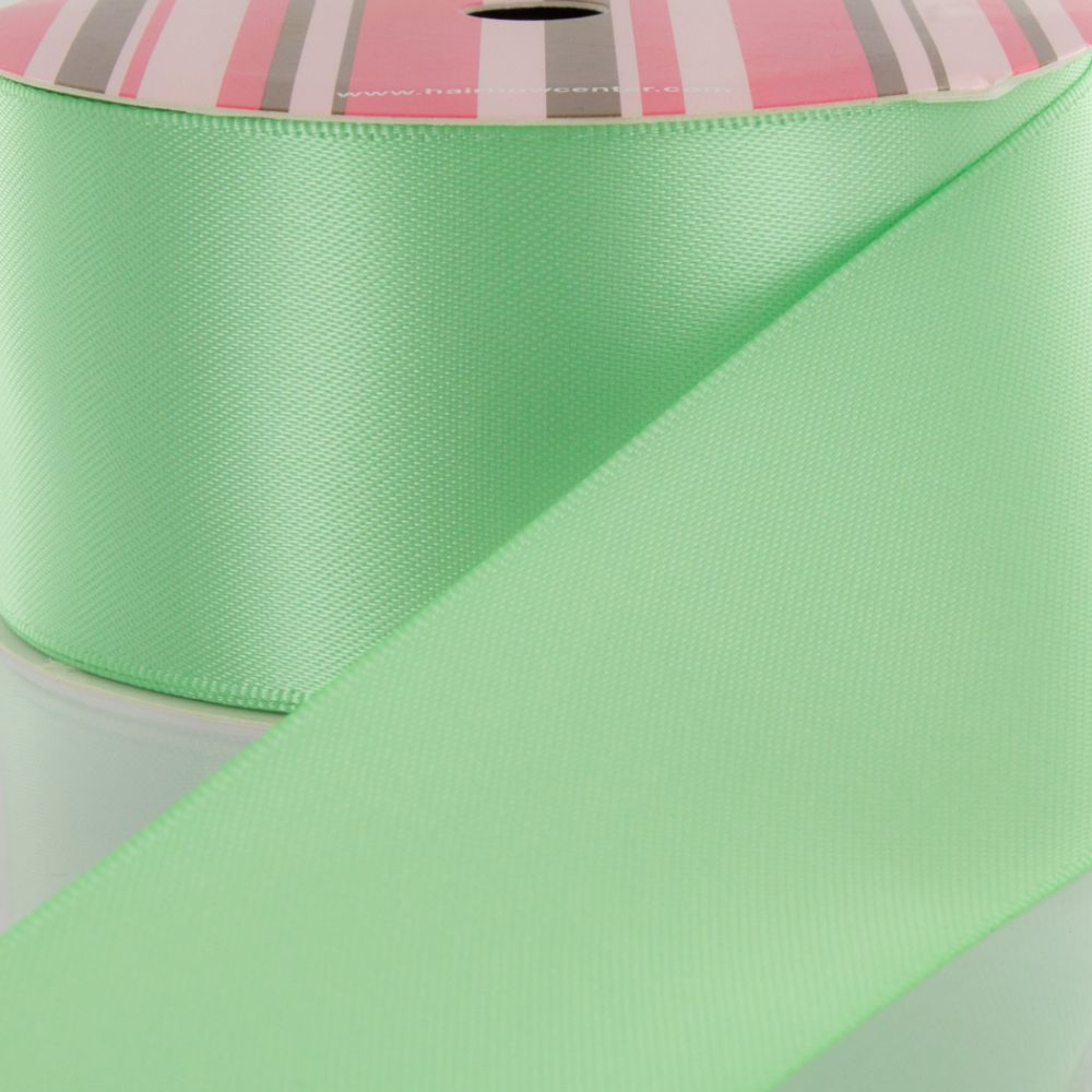 Mint Double Faced Satin Ribbon 530