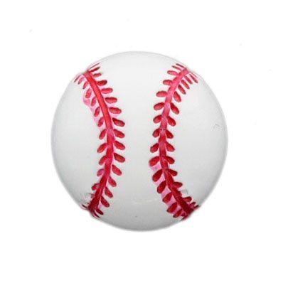 Baseball Flatback Resin Embellishment