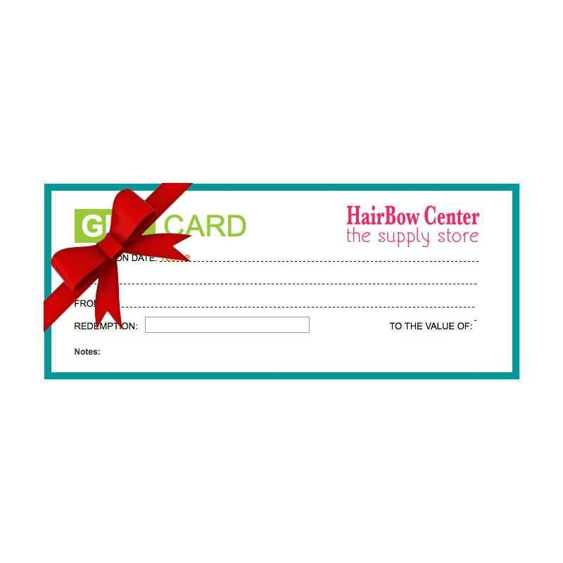HairBow Center Gift Certificate