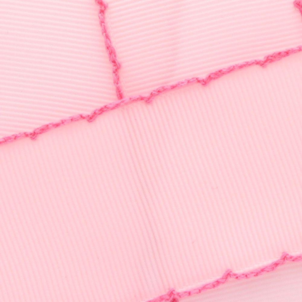 Light Pink/Hot Pink Moonstitch Ribbon
