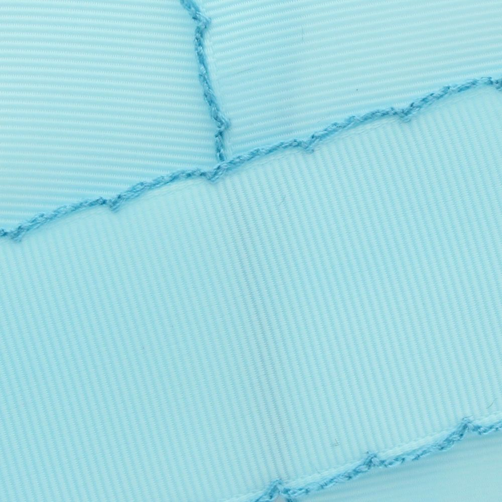 Ocean Blue/Turquoise Moonstitch Ribbon