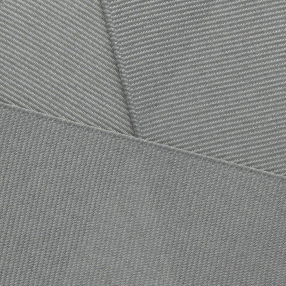 Grey Grosgrain Ribbon Offray 015