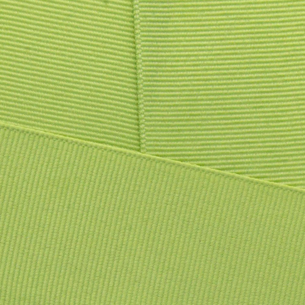 Lemon Grass Grosgrain Ribbon Offray 528