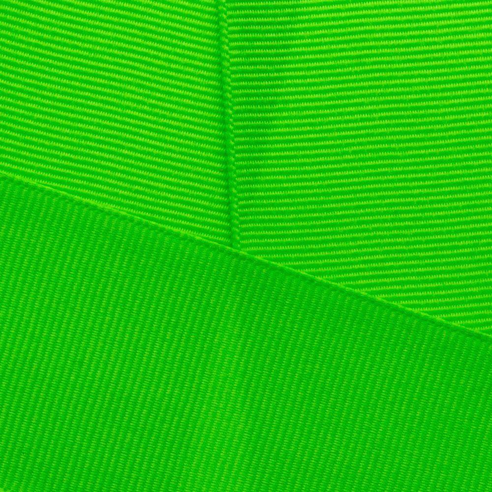Neon Green Grosgrain Ribbon Offray 2586