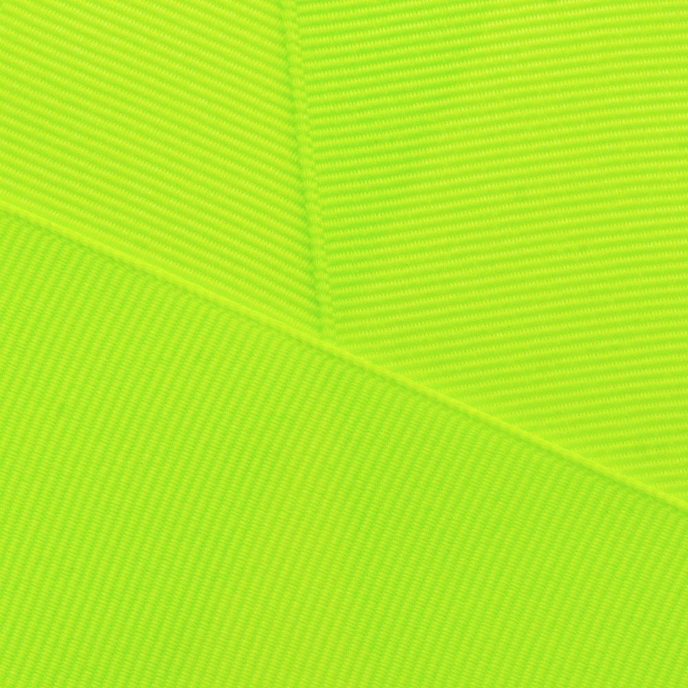 Neon Lime Grosgrain Ribbon Offray 2545