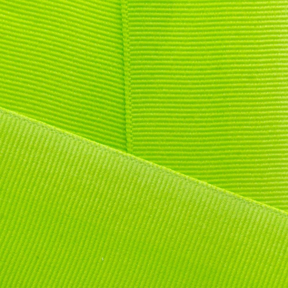 New Chartreuse Grosgrain Ribbon Offray 547
