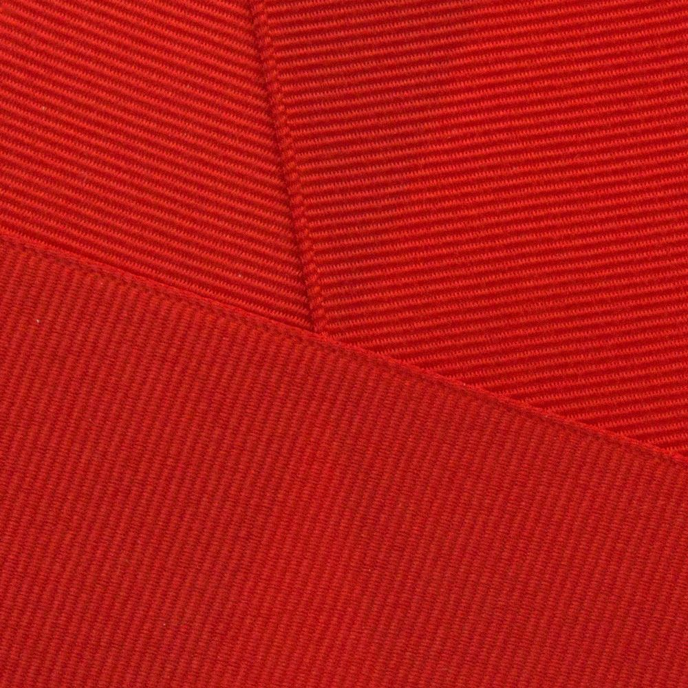 Poppy Red Grosgrain Ribbon Offray 235