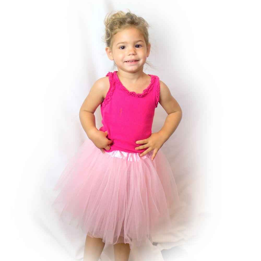 Big//Little Baby Girl Dress Kid Tutu Glitter Ballet Dress Triple Layer Soft Tulle