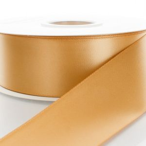 Old Gold Double Faced Satin Ribbon 690