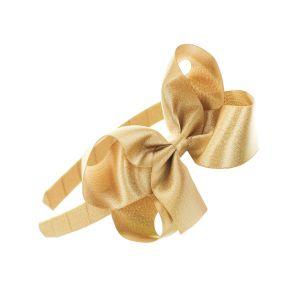 Shimmer Satin Bow Headband Pack
