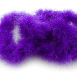Marabou Boa Purple