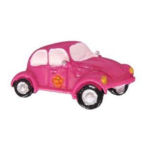 Pink Beetle Flatback Resin Embellishment