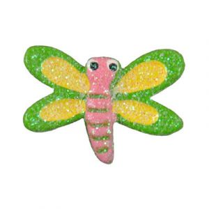 Green Dragonfly Flatback Resin Embellishment