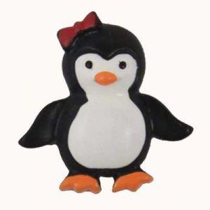 Penguin Flatback Resin Embellishment