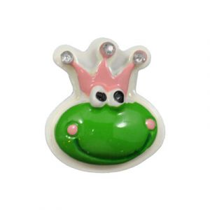Royal Frog Flatback Resin Embellishment