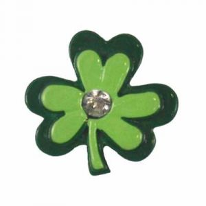 Shamrock Flatback Resin Embellishment