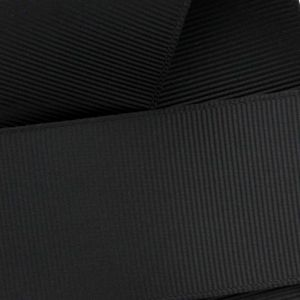 Black Grosgrain Ribbon HBC 030