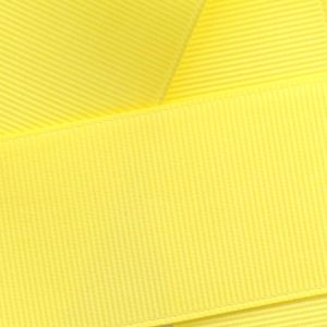 Lemon Grosgrain Ribbon HBC 640