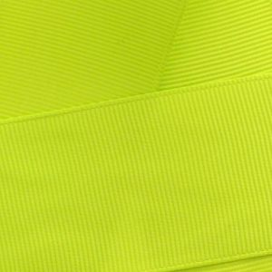 Lime Green Grosgrain Ribbon HBC 546