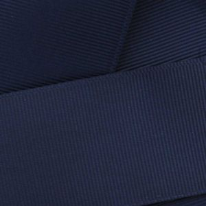 Navy Blue Grosgrain Ribbon HBC 370
