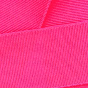 Neon Pink Grosgrain Ribbon HBC 170