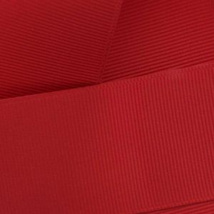 Red Grosgrain Ribbon HBC 250