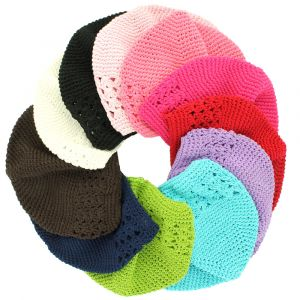 Clearance Kufi Crochet Beanie Hat - Baby