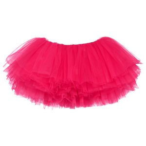 Little Girls Tutu 10-Layer Short Ballet (6 mo. - 3T) Hot Pink