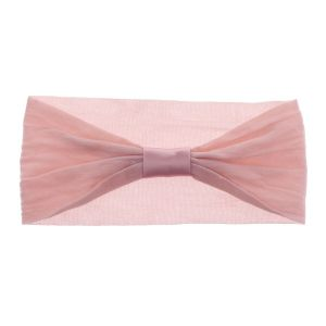 Baby Sheer Nylon Headband Dusty Rose