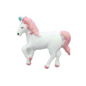 Sparkle Unicorn Flatback Resin Embellishment