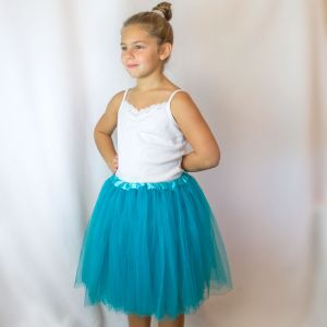 Big Girls Tutu 3-Layer Ballerina (4T - 9)