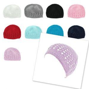 Kufi Crochet Beanie Hat - Baby