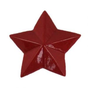 Red Star Flatback Resin Embellishment