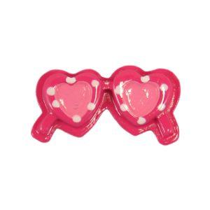 Hot Pink Sunglasses Flatback Resin Embellishment