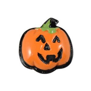 Halloween Jack-O-Lantern Flatback Resin Embellishment