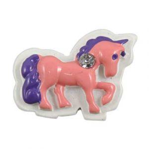 Pink/Purple Unicorn Flatback Resin Embellishment