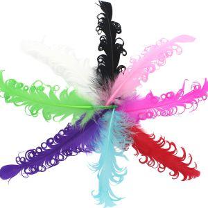 Curly Nagori Goose Feathers