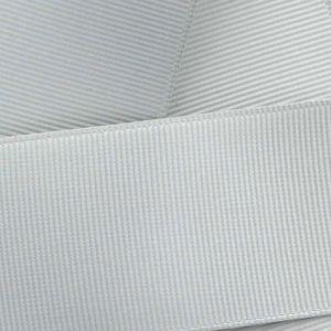 Grey Grosgrain Ribbon HBC 007