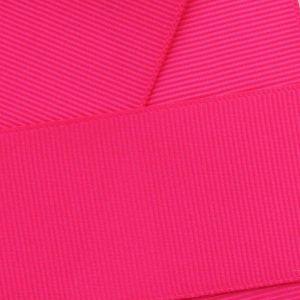 Shocking Pink Grosgrain Ribbon HBC 175