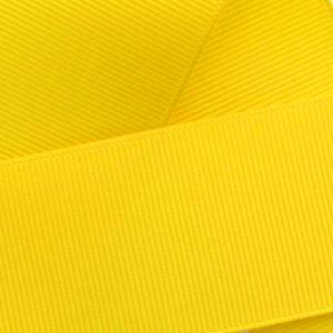 Yellow Grosgrain Ribbon HBC 645