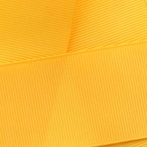 Yellow Gold Grosgrain Ribbon HBC 660
