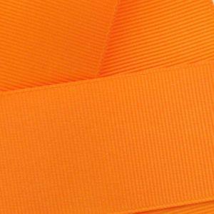 Tangerine Grosgrain Ribbon HBC 668