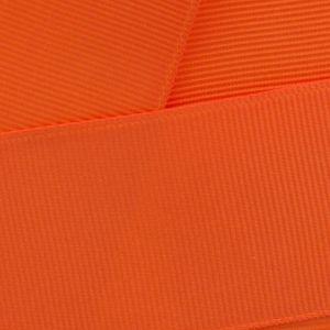 Orange Grosgrain Ribbon HBC 750